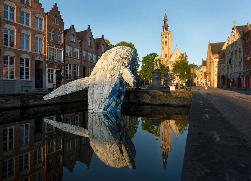 public art in bruges canal 11 2