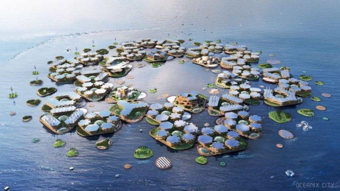 打造「漂浮城市」