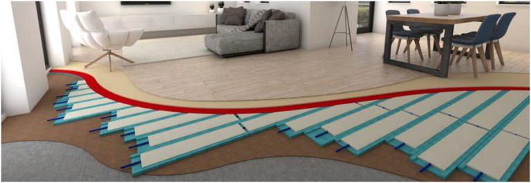 循環展館 CIRCL 所使用的 PCM 恆溫地板。
