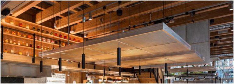 循環展館 CIRCL 所使用之尺寸較大的木造構件