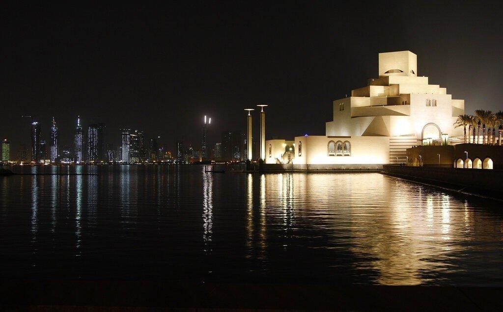 貝聿銘作品-2006年-2008年:卡達杜哈伊斯蘭藝術博物館。