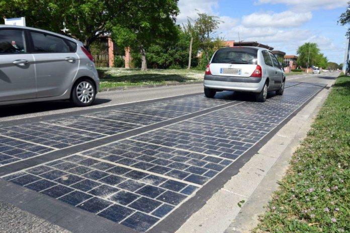 法國太陽能道路宣告失敗 發電量只有預期35%