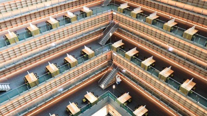 政治大學達賢圖書館全新開幕。(圖片來源/國立政治大學FB)
