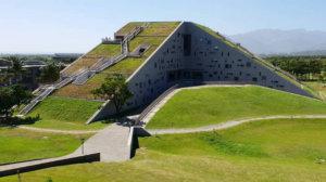 臺東大學圖書資訊館被選為世界8大特色圖書館。(攝影:allenwhang)