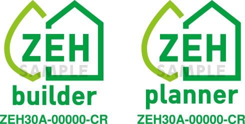 零能源消費住宅標誌。圖片來源:經產省