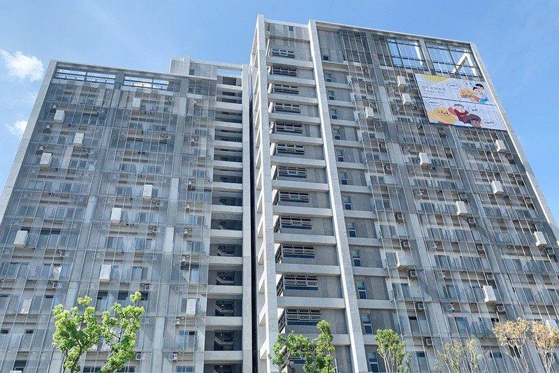 台中社會住宅「太平育賢好宅」。