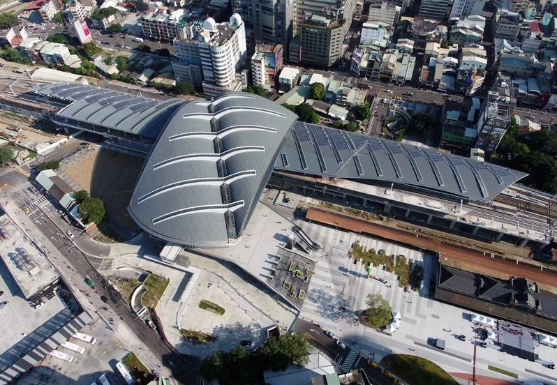 台中車站獲2020台灣建築獎首獎。