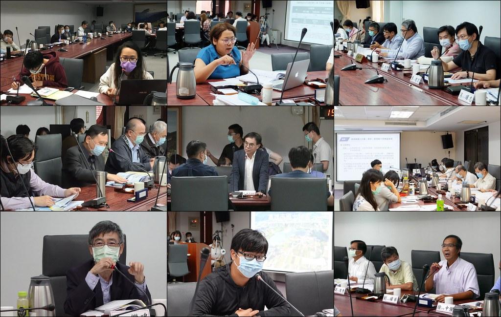 2020年內政部進行18縣市國土計畫審議,經歷包含19次專案小組、六次大會與多場通案性會議審議程序。