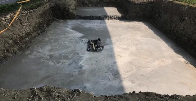 圖 26 台 61 線 - 雨水回收系統之 PC 層鋪設