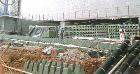 圖 31 台積電 15P 廠之堆疊施工