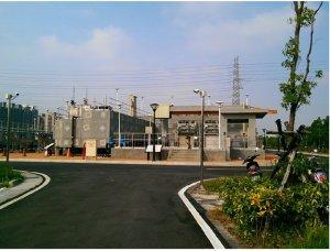 圖 4 台中文山水資源 - 慢車道鋪面