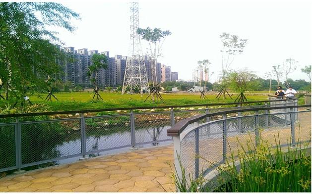 圖 7 台中文山水資源 - 生態滯洪池